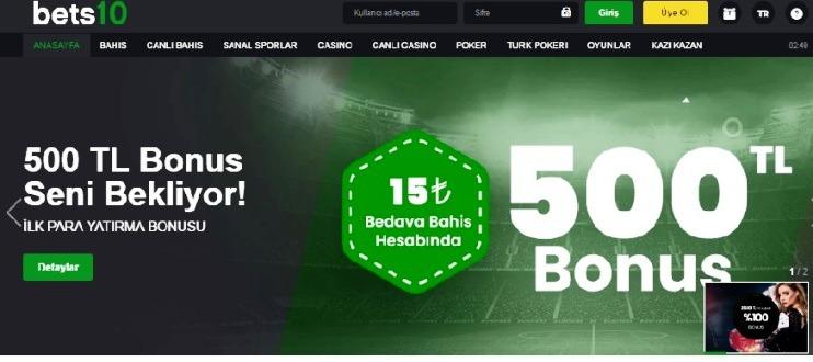 Bets10 Canli Bahis